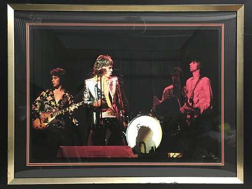 The Rolling Stones photo *Signed