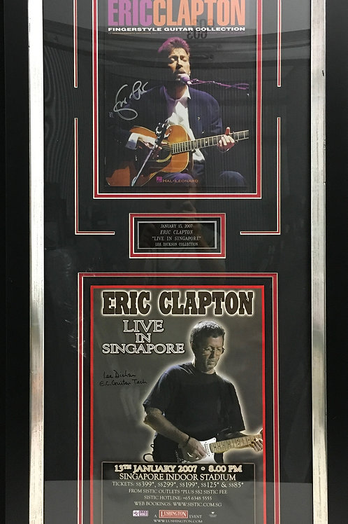 Eric Clapton Live in Singapore *Signed