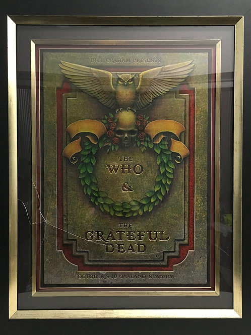 The Who & The Grateful Dead poster