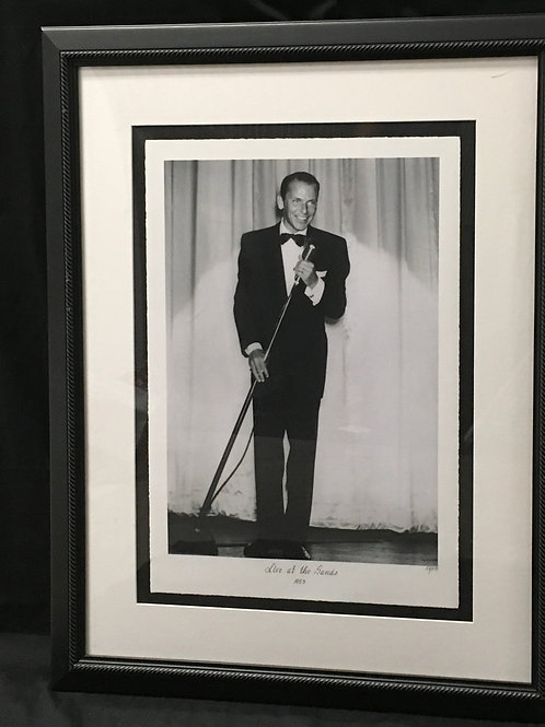"""Frank Sinatra """"Live at the Sands"""" 1953"""