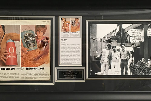 The Who Sell Out & photo *Signed