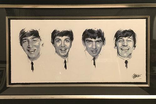 The Beatles by Joe Petruccio