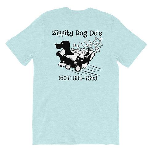 Zippity Dog Do's Grooming Salon Custom T-Shirt