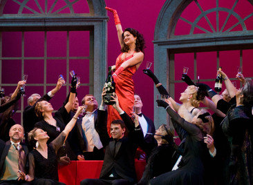 Violetta in La Traviata