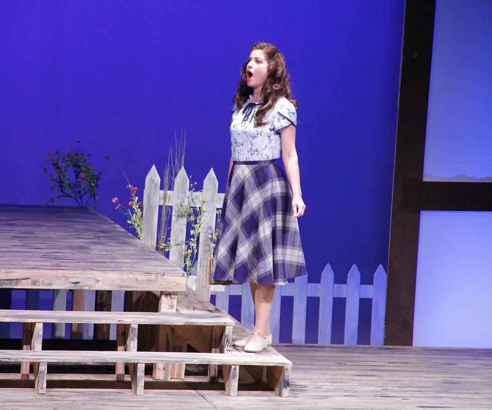 Penelope Shumate as Laurie in The Tender