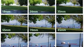 ¿Qué es la distancia focal de la cámara?