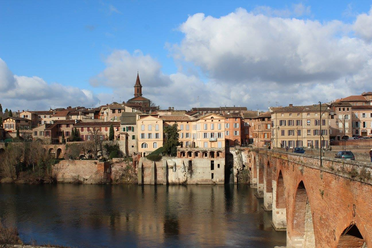 The old bridge in Albi