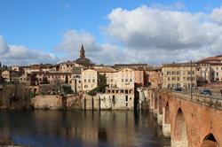 The old bridge in Albi