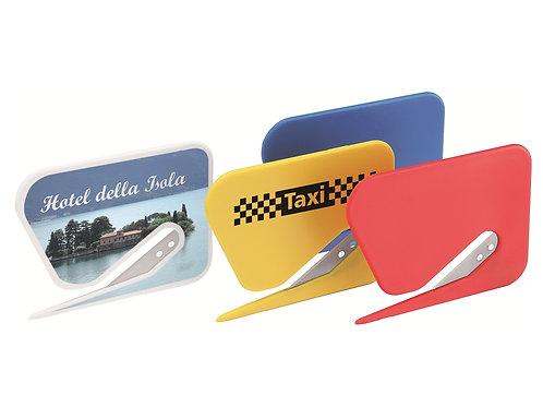 Briefcutter zum Öffnen von Briefen in verschiedenen Farben, allover bedruckt