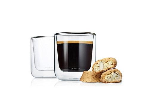 NERO 2er Set Thermo-Kaffeegläser - blomus