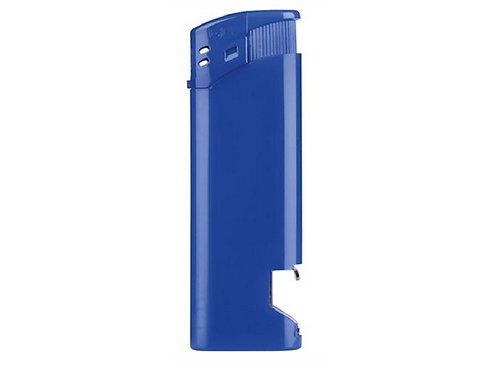 Feuerzeug GO mit Flaschenöffner blau