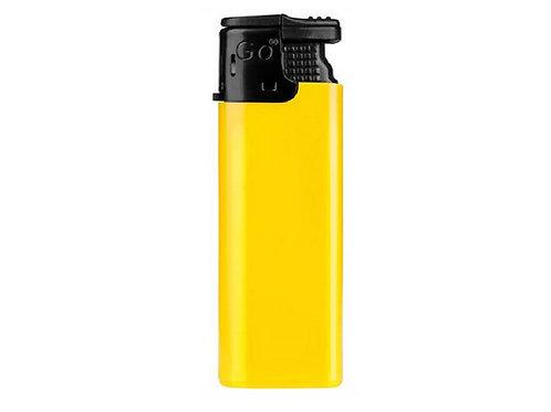 einfaches Feuerzeug GO Turbo in Gelb