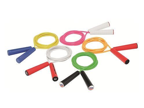 Springseile mit Griffen in diversen Farbkombinationen