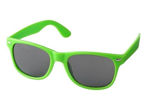 einfache Kunststoff Sonnenbrille in grün