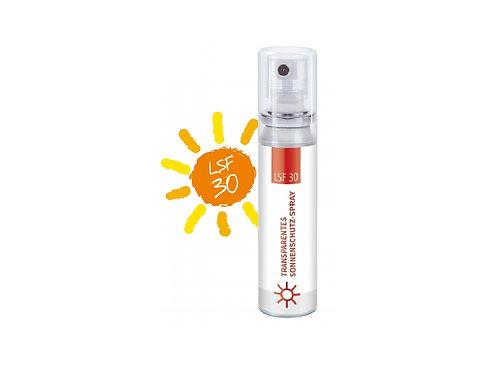 Sonnenschutzspray transparent mit Lichtschutzfaktor 30, bedruckbar