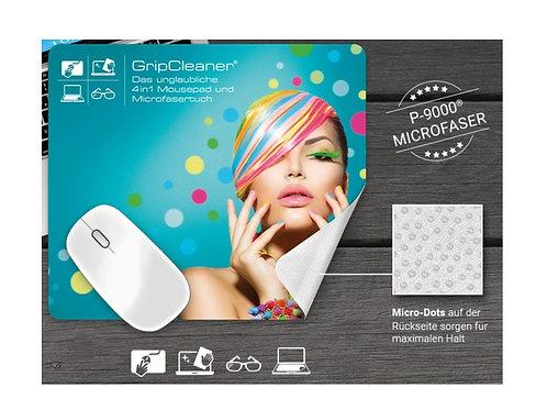 Mousepad auch nutzbar als Reinigungstuch allover bedruckt
