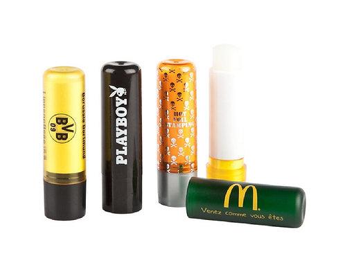 Lippenpflegestift mit Firmenaufdruck