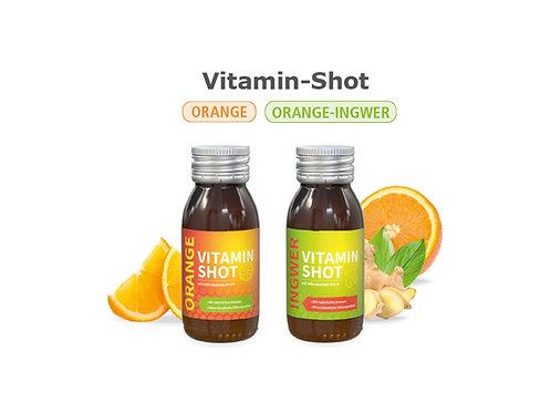 Vitamin Shot Orange Ingwer  - pfandfrei