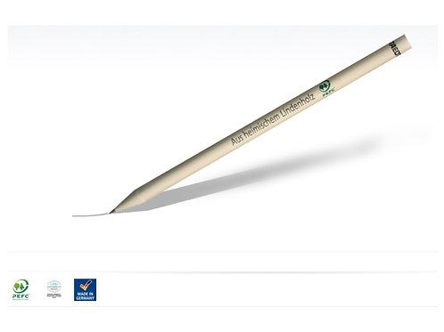 Naturbelassener Staedtler Bleistift aus heimischem Lindenholz