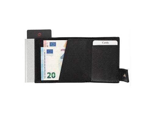 schwarze Eurostyle RFID Geldbörse mit Scheintasche