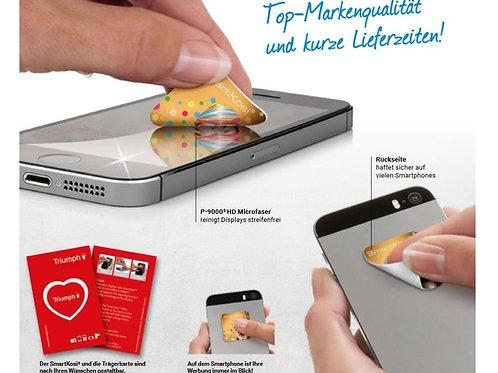 Smart Kosi; kleiner Displayreiniger beim Reinigen von Handys