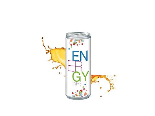 Energy Drink 250 ml in der bedruckbaren Dose