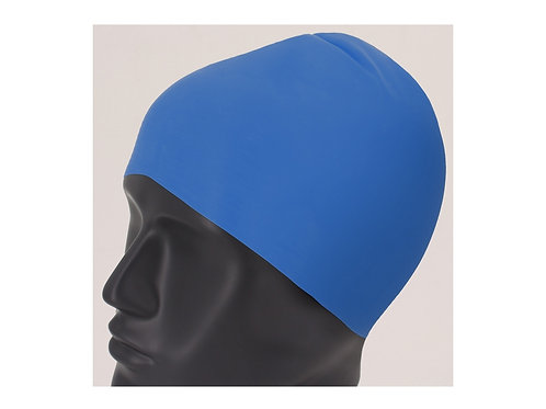 Latex Badekappe in blau