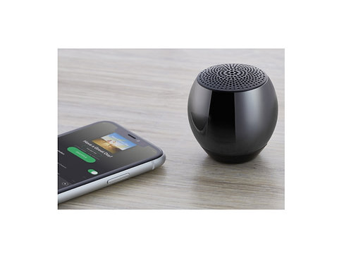 runder Bloototh Lautsprecher in hochwertiger Geschenkbox