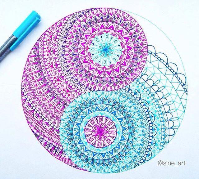 Mandala Relaxation Drawing Class
