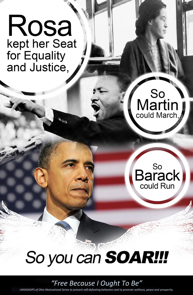"""Rosa Parks - """"The first lady of civil rights"""" and """"The mother of the Freedom Movement"""""""