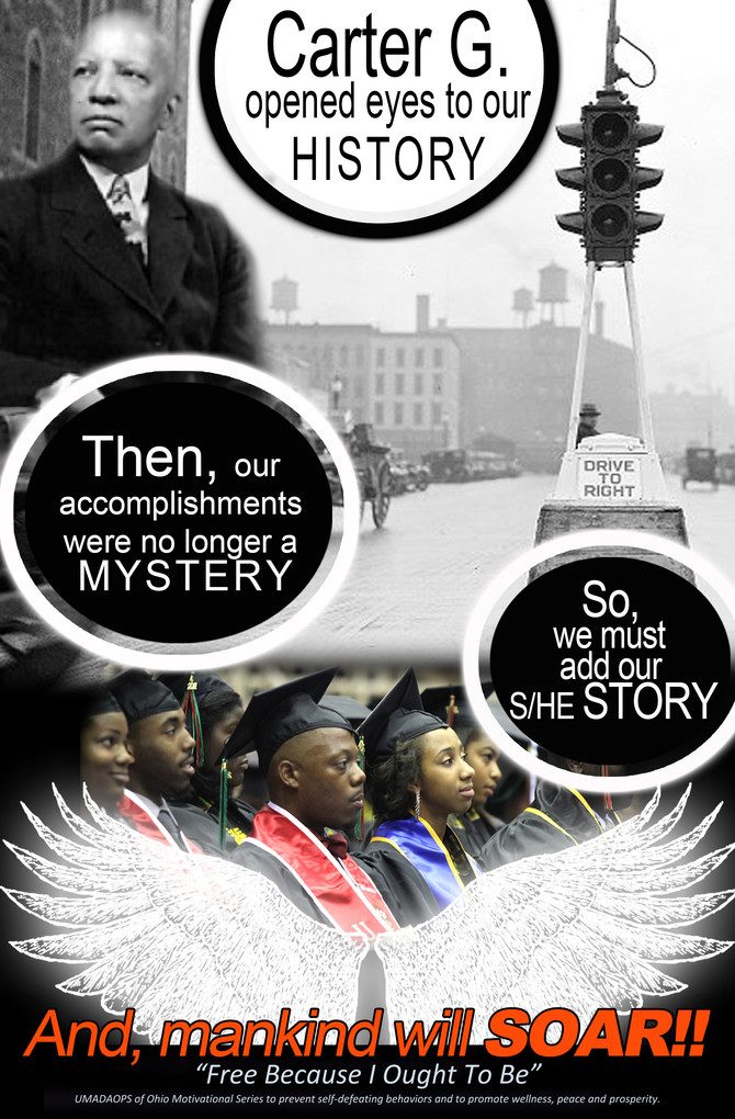 """Carter G. Woodson """"Father of Black History"""""""