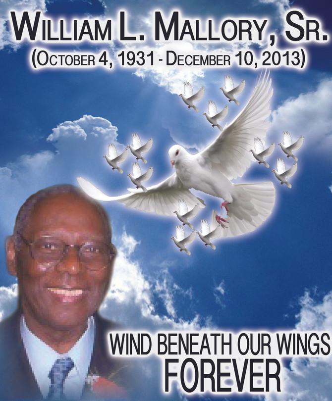 Remembering William L. Mallory, Sr. (UMADAOP LEADER & FOUNDER)