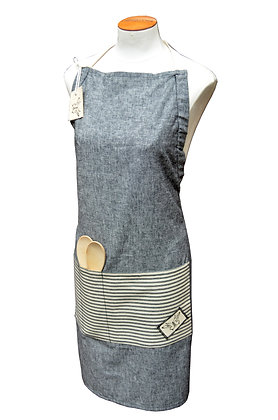 Adjustable unisex apron