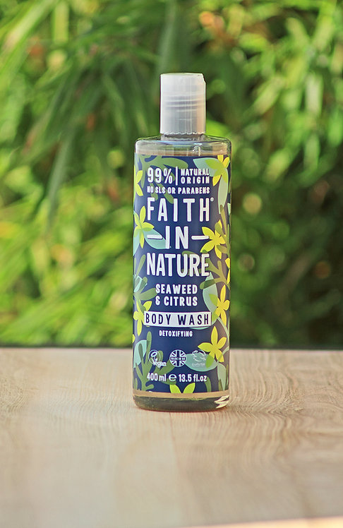 Seaweed foam bath & shower gel - Faith in Nature