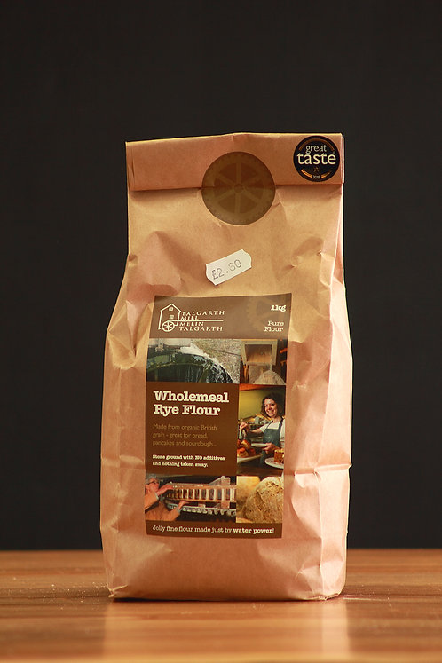 Wholemeal Rye Flour - Talgarth Mill