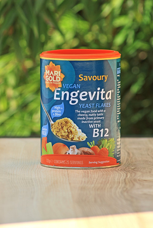 Engevita Nutritional Yeast Flakes with added V12