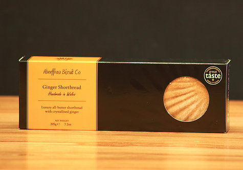 Aberffraw Biscuit Co - Ginger Shortbread