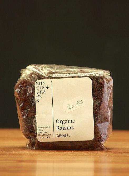 Organic Raisins 250g