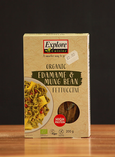 Edamame & Mung Bean Fettucine