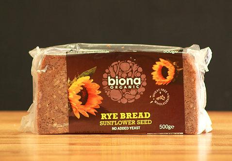 Rye Bread (sunflower seed) - Organic