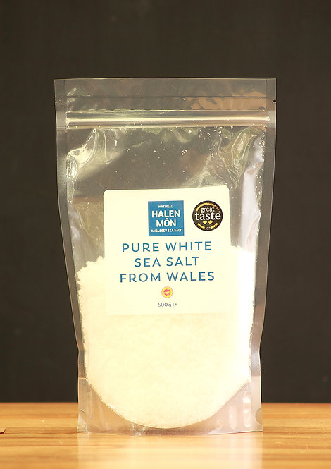 Halen Mon - Pure white sea salt
