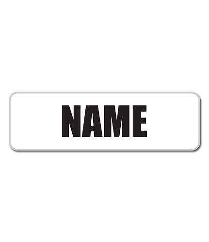CBMHA Name Bar - Large