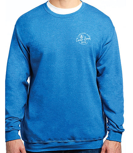 Crewneck with Embroidered Logo