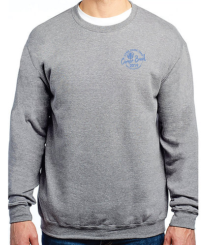 Personalized Crewneck with Embroidered Logo