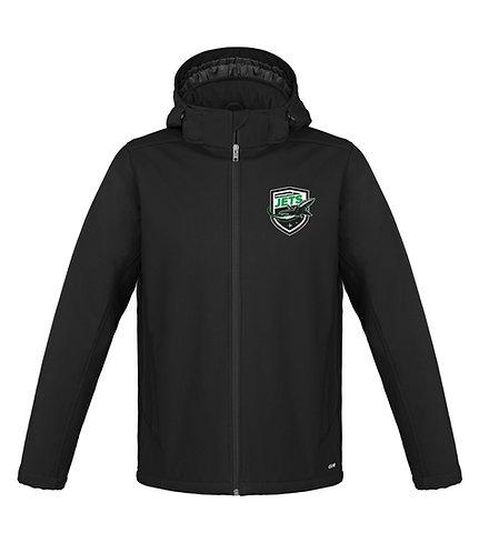 Personalized Winter Softshell Jacket w/back Logo