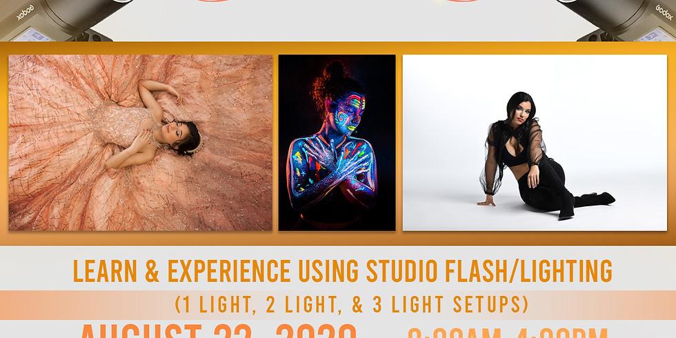 Photographers studio shootout