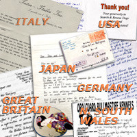 Letters from around the globe