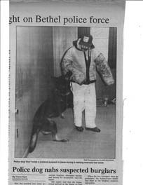 John and Bethel Police Dog