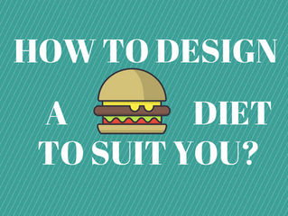 How to design a diet to suit you?