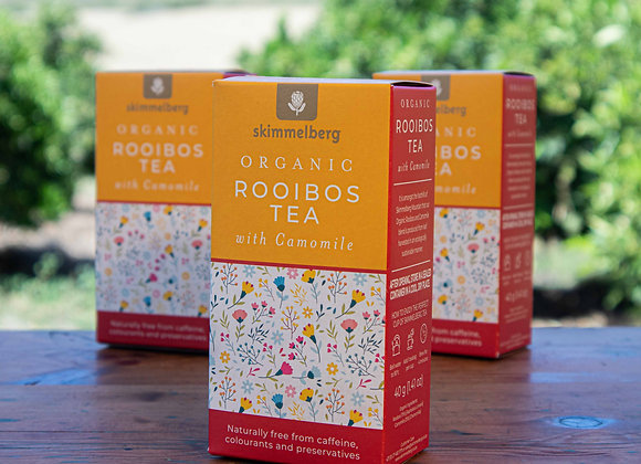Organic Rooibos Tea with Camomile